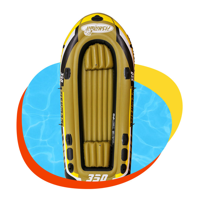 Customized high quality water swimming sports inflatable adult boat