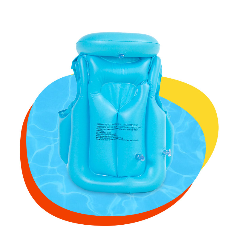 Custom inflatable safety toddler swim vest