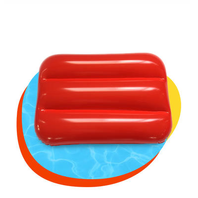 Environment-friendly PVC inflatable leisure beach pillow