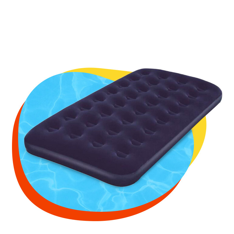 PVC flocking inflatable camping indoor stylish Air Mattress car mat