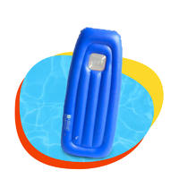 High quality inflatable high speed water sports surfing water surfboard