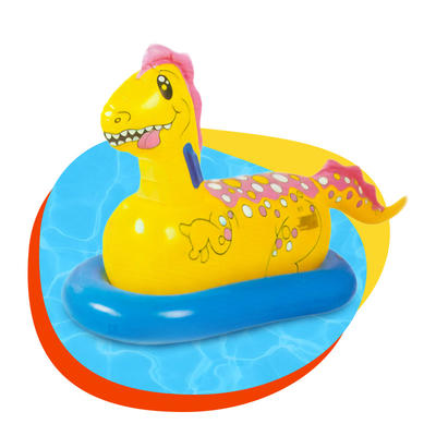Customized Baby Phthalate-Free PVC Swimming Pool Dinosaur Rider Ride On