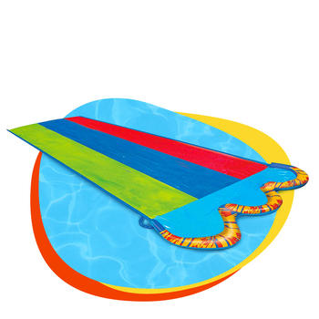 PVC Watersports giant backyard water slide mat for outdoor sports