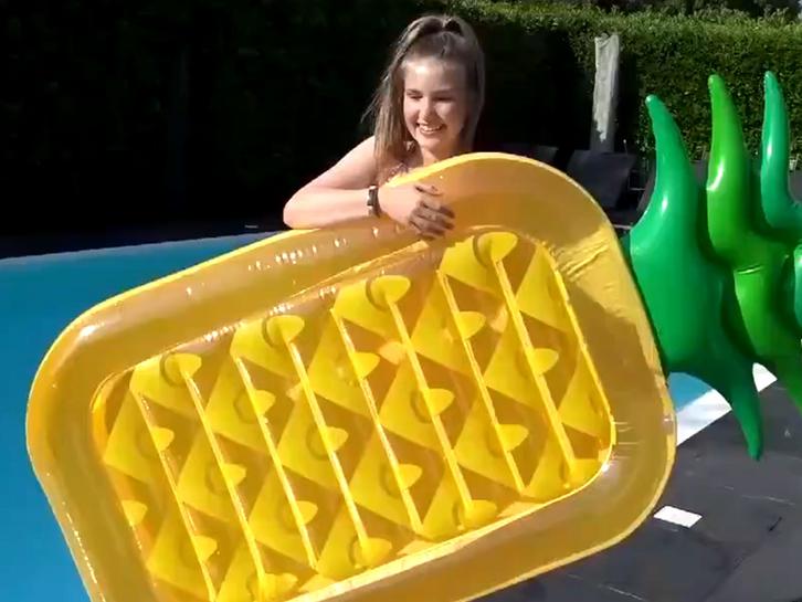 Pineaple Float