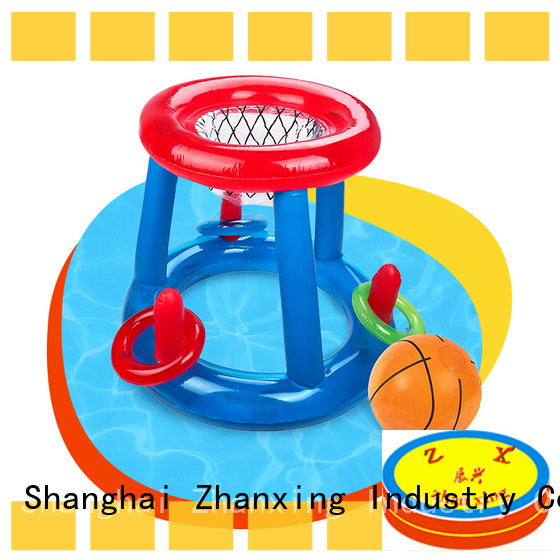 Zhanxing inflatable basketball hoop manufacturer for sale