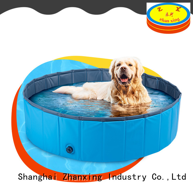 Zhanxing plastic dog pool manufacturer for dog