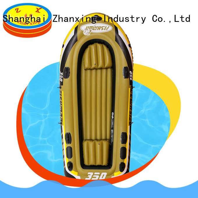 Zhanxing latest fishing boat inflatable supplier for distribution