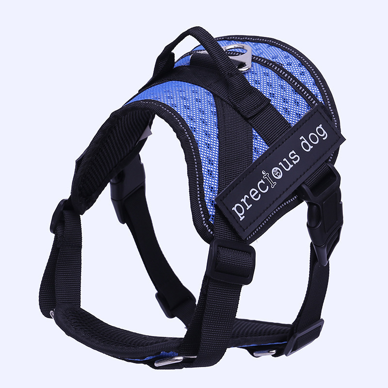 Hot Sale Quick Release Tactical Rope Set Reflective Vest Pet Dog Harness
