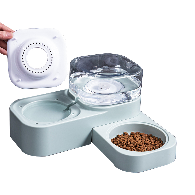 Bowls Removable Waterers Smart Pet Feeders Food Dispenser