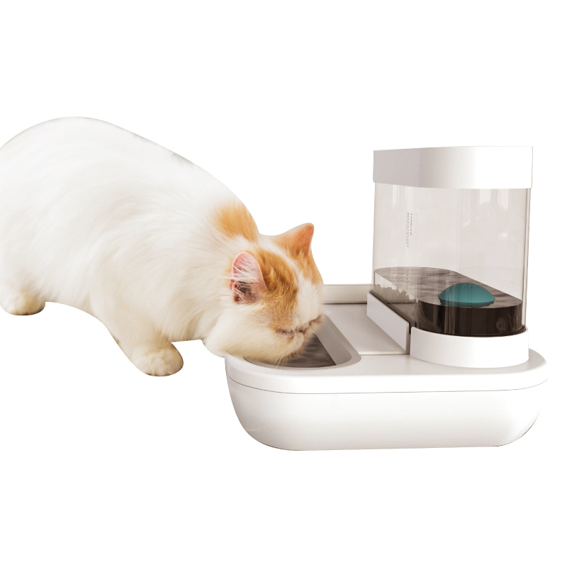 Promotion Food Dog Bowls Waterers Smart Automatic Cat Pet Feeder