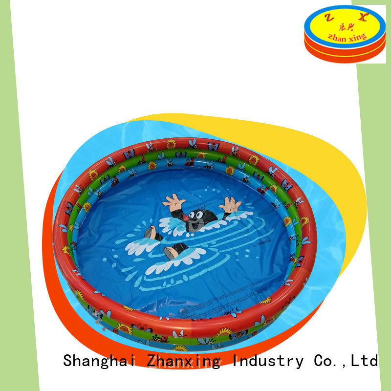 Zhanxing blow up swimming pool solution expert for importer