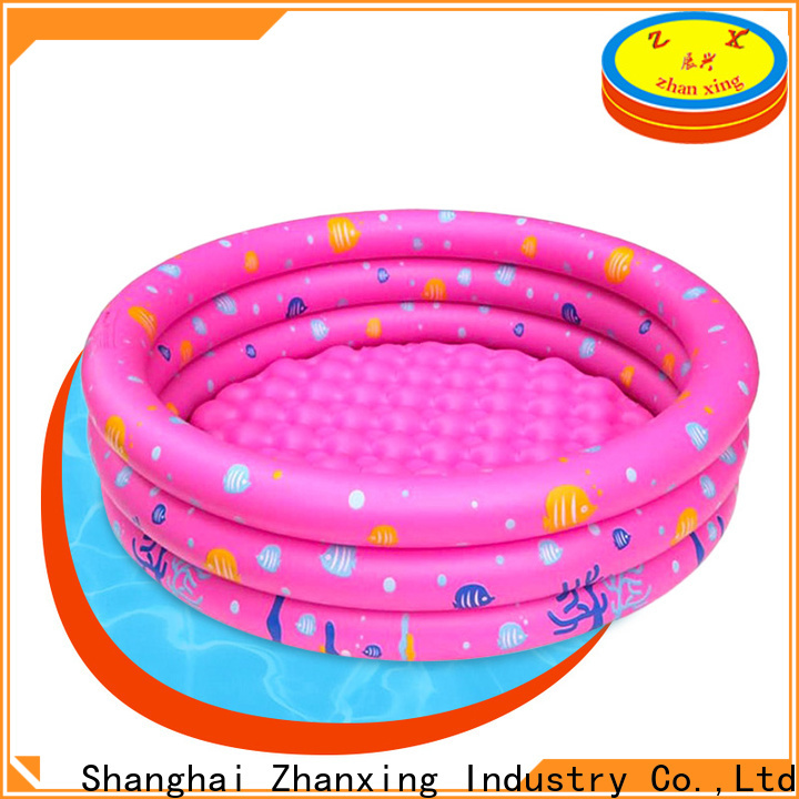 Zhanxing large inflatable pool trader for wholesale