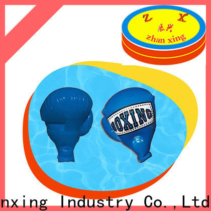 Zhanxing inflatable boxing gloves manufacturer for sale